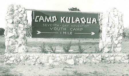 Entrance Sign, Camp Kulaqua Retreat and Conference Center, Florida